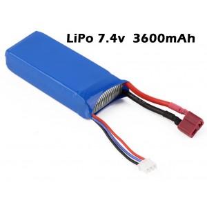 Bateria LiPo 7.4v 3600mAh